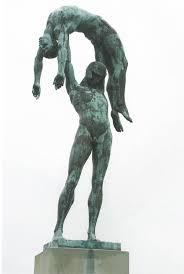 Rudolf Tegner statue