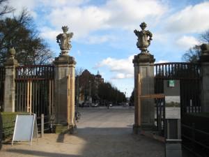 Frederiksberg Haves indgang